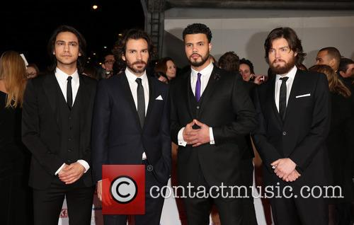 Santiago Cabrera, Tom Burke, Luke Pasqualino, Howard Charles and The Musketeers