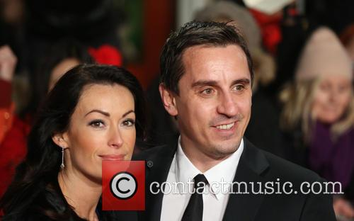 Emma Hadfield and Gary Neville