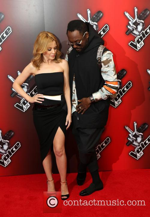 Kylie Minogue and Will.i.am 1