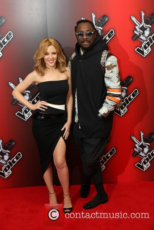 Kylie Minogue and Will.i.am 2