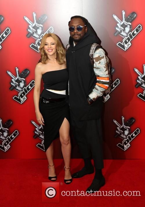 Kylie Minogue and Will.i.am 6