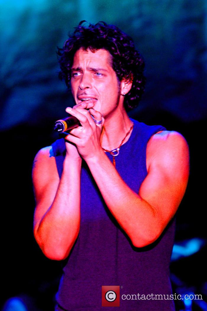 Chris Cornell performing with Audioslave