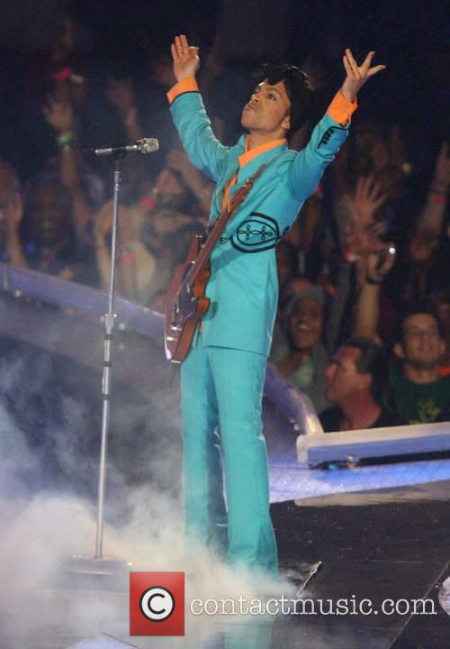 Prince performing live