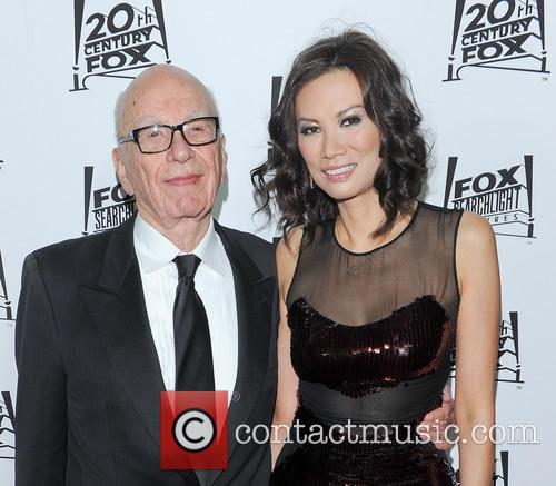Rupert Murdoch and Wendi Deng 3