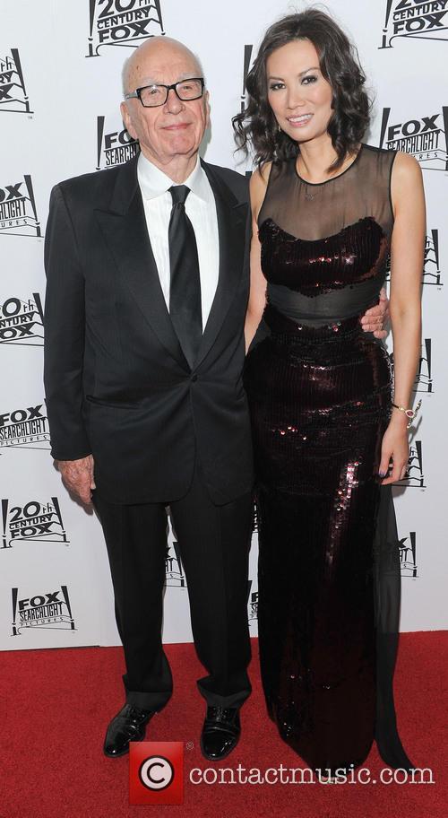 Rupert Murdoch and Wendi Deng 4