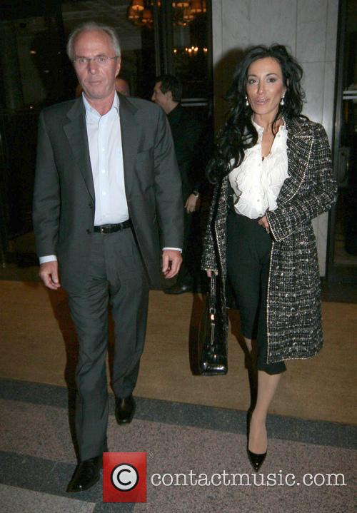 Sven-göran Eriksson and Nancy Dell'olio 1
