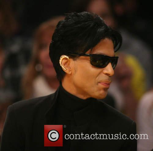 Prince pictured at the Super Bowl XLI