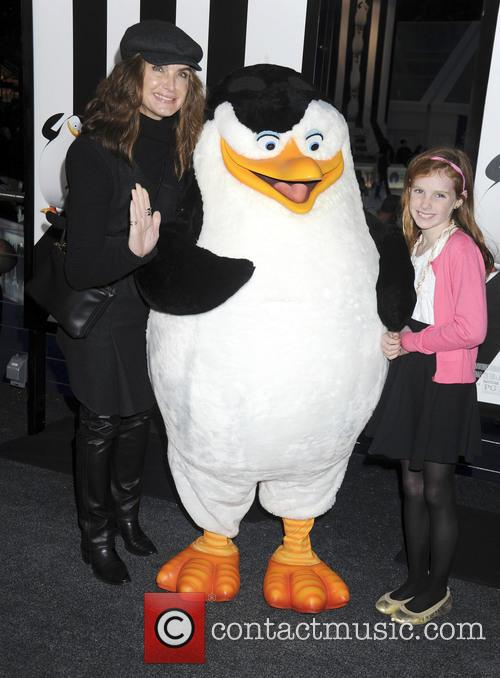 Brooke Shields and Her Daughter 2