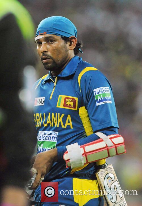 Australia vs. Sri Lanka T20 international match at...