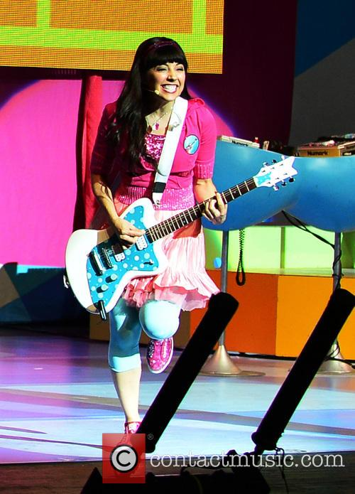The Fresh Beat Band perform live in concert