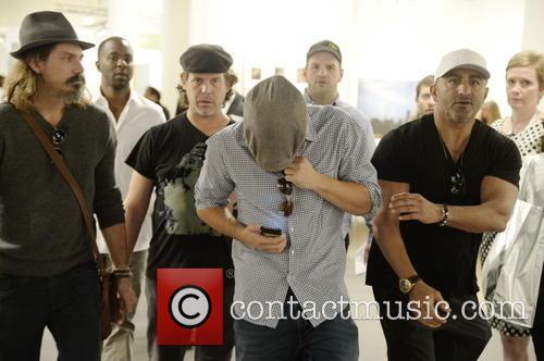 Leonardo Di Caprio and Art Basel