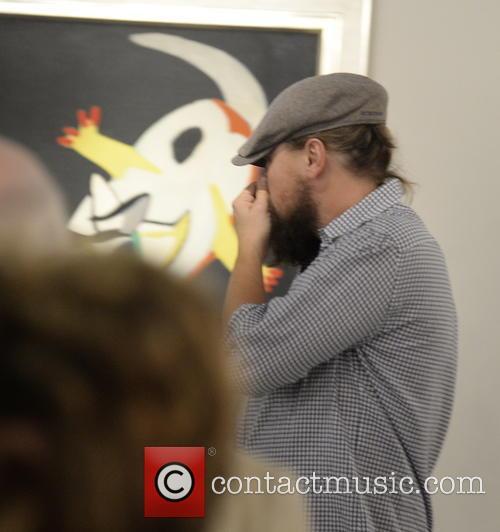 Leonardo Di Caprio and Art Basel 9