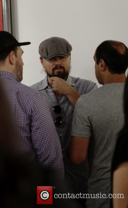 Leonardo Di Caprio and Art Basel 10