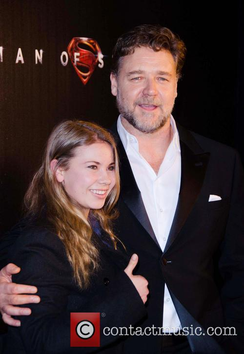 Russell Crowe and Bindi Irwin 2