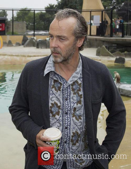 Actor John Hannah stopped by Edinburgh Zoo to...