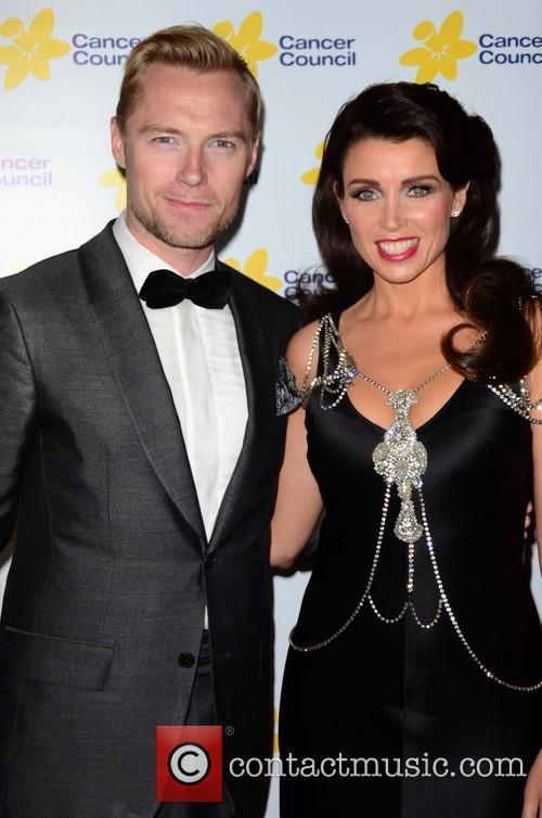 Dannii Minogue and Ronan Keating