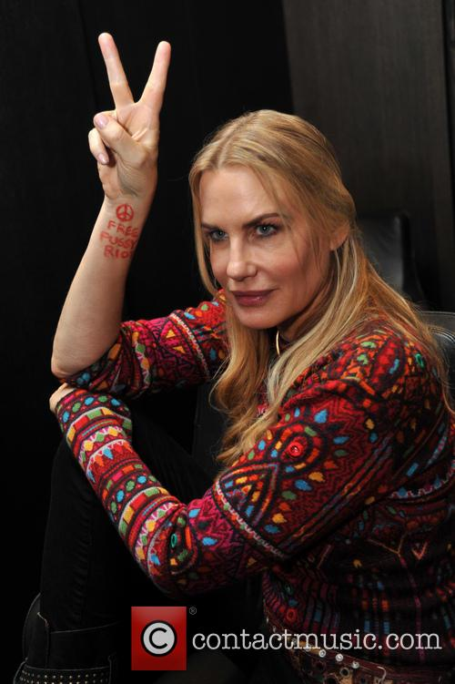 Daryl Hannah attends the 'Polar Lights' Interantional Film Festival