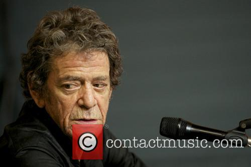 Exhibit of singer Lou Reed's photography at the...