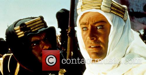 Movie still from the film 'Lawrence of Arabia'...