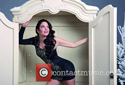 Tulisa Contostavlos appears in BANK Fashion's Christmas campaign