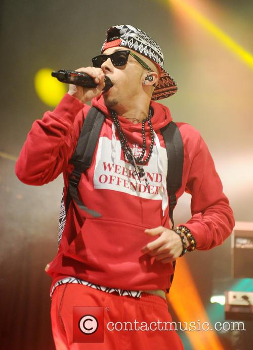 Dappy performing at Manchester Academy