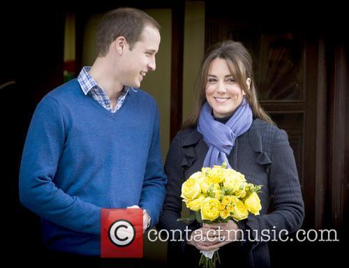Duke & Duchess of Cambridge leave King Edward...