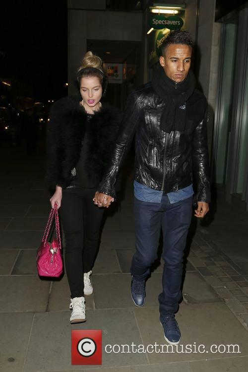 Helen Flanagan and Scott Sinclair 1