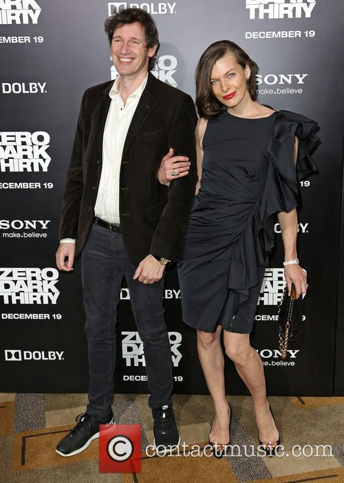 Paul W. S. Anderson and Milla Jovovich 1
