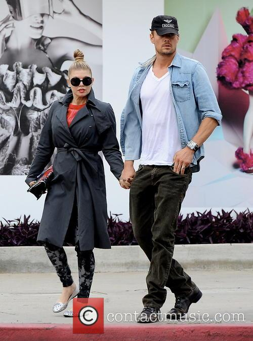 Josh Duhamel and Fergie in Hollywood