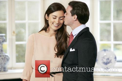 His Royal Highness Prince Felix de Luxembourg and...