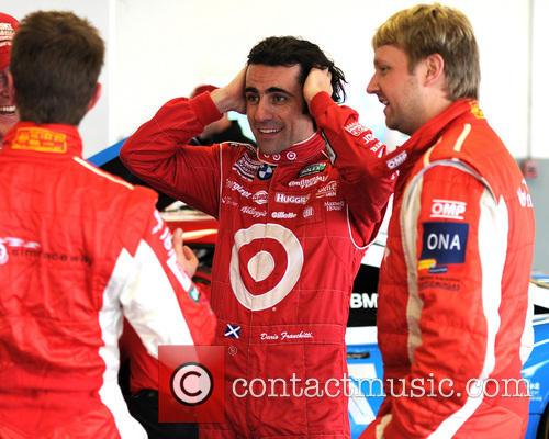 Dario Franchitti participates in the Rolex Series