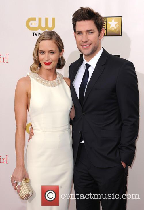 Emily Blunt and Husband John Krasinski 1