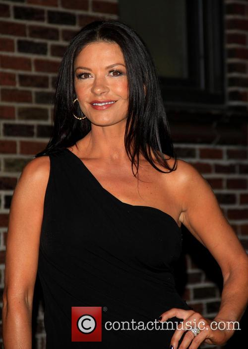 catherine zeta jones celebrities at the ed sullivan 3635483