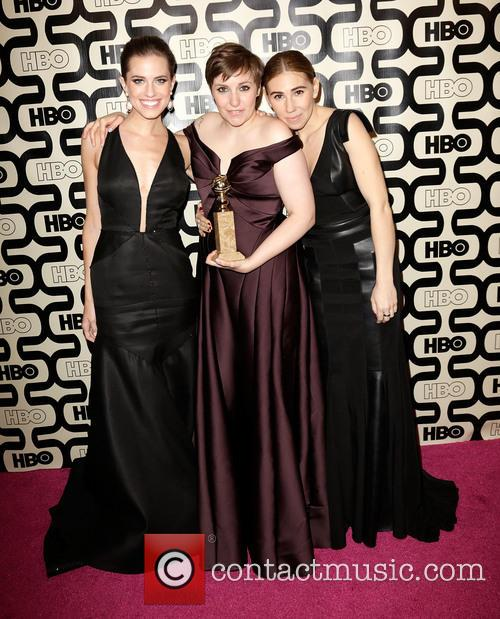 Allison Williams, Lena Dunham and Zosia Mamet 4