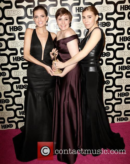 Allison Williams, Lena Dunham and Zosia Mamet 5