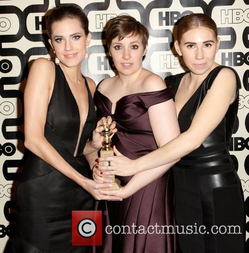 Allison Williams, Lena Dunham and Zosia Mamet 1