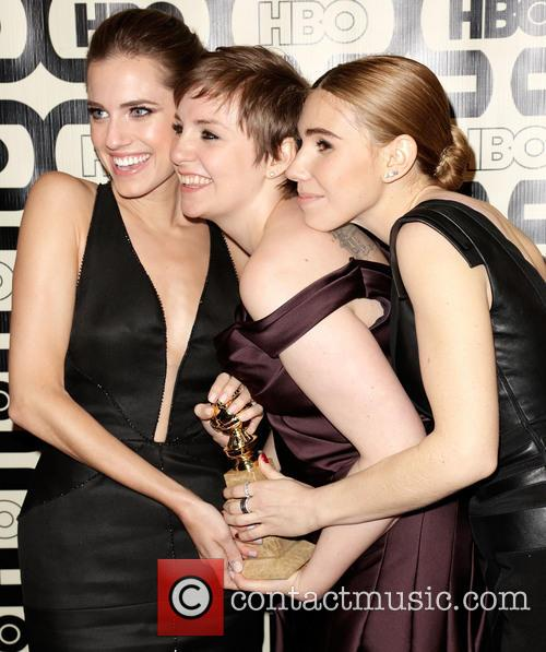 Allison Williams, Lena Dunham and Zosia Mamet 7