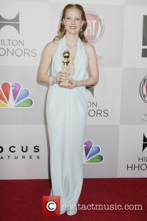 Jessica Chastain, NBC, Golden Globe