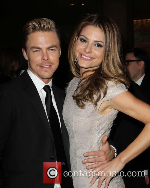 Derek Hough and Maria Menounos 2