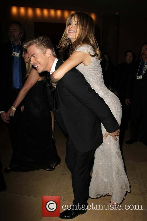 Derek Hough and Maria Menounos 3