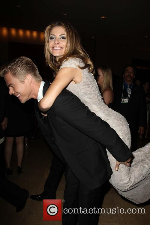 Derek Hough, Maria Menounos, Golden Globe
