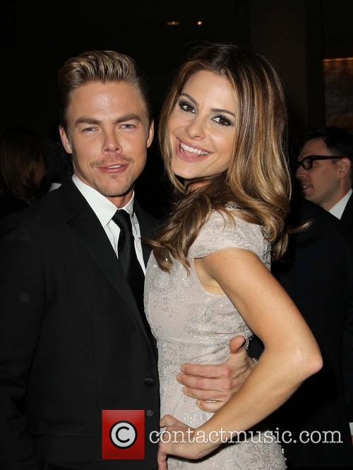Derek Hough and Maria Menounos 1