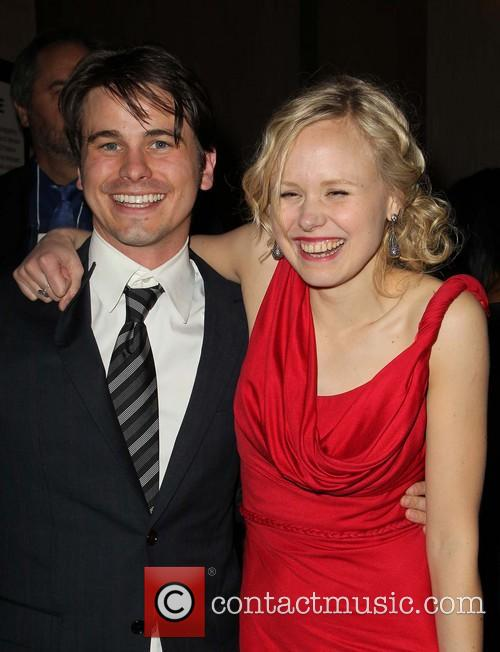 Jason Ritter and Alison Pill 6