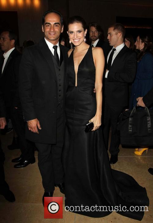 navid negahban allison williams golden globe awards post party 3454205