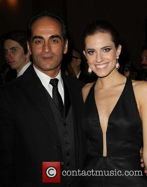 Navid Negahban and Allison Williams 4