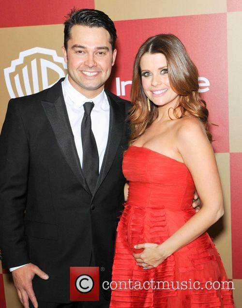 Nick Swisher and Joanna Garcia 2