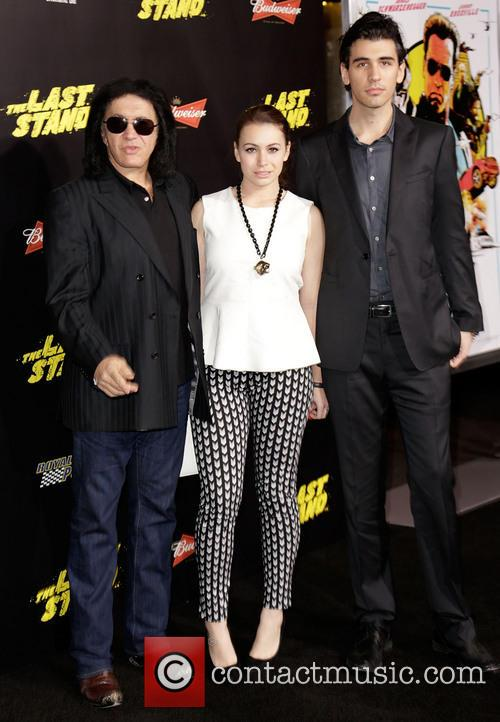 Gene Simmons, Sophie Simmons and Nick Simmons 5