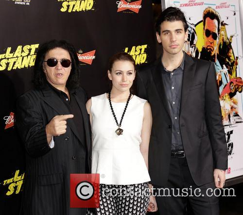 Gene Simmons, Sophie Simmons and Nick Simmons 8