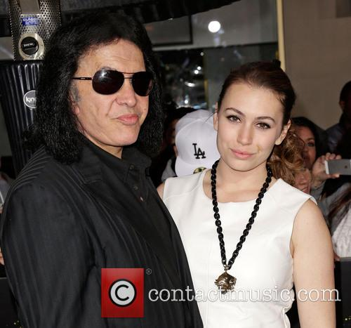 Gene Simmons and Sophie Simmons 6