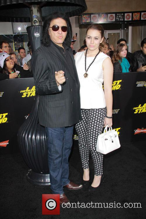 Gene Simmons and Sophie Simmons 4